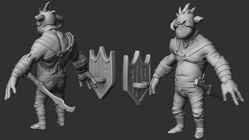 Orc-1 high poly