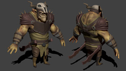 Orc-2 high poly
