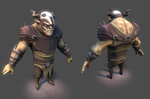 Orc-2 low poly