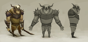 Orc-regular concept art