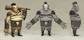 Orc Boss concept art